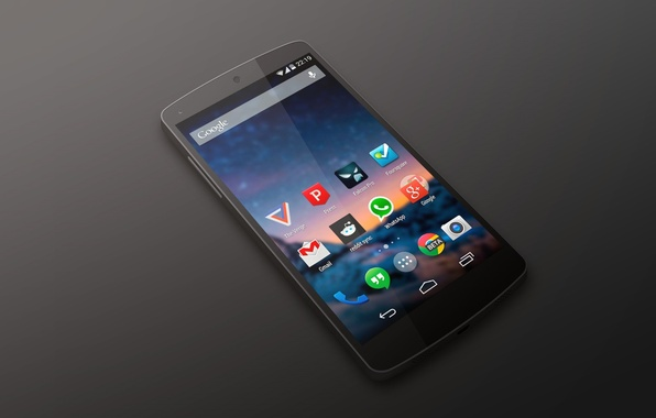Picture Android, Google, Black, Smartphone, Nexus 5, Kit Kat, by LG
