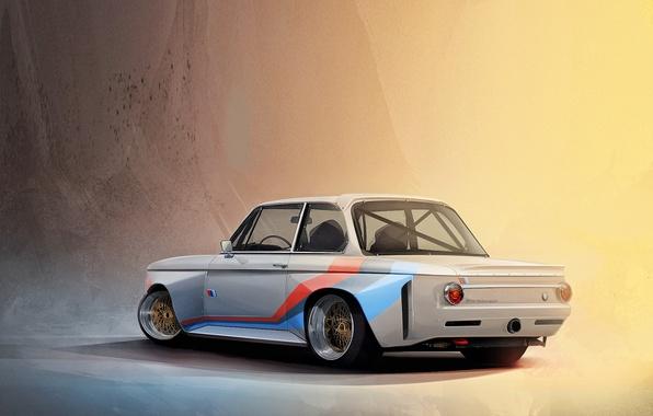 Photo Wallpaper Old BMW Model Motorsport 3d Car 1600