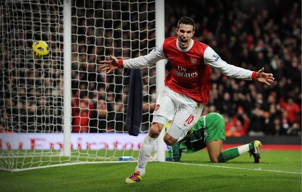 Picture football, van Persie, Arsenal London