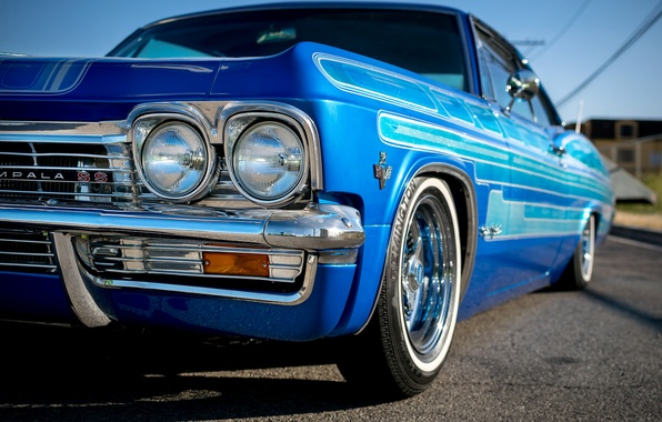 Picture Chevrolet, the front, Impala