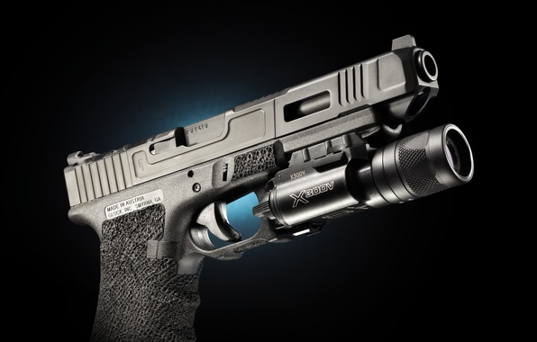 Picture weapons, Austria, flashlight, Glock 34, self-loading pistol