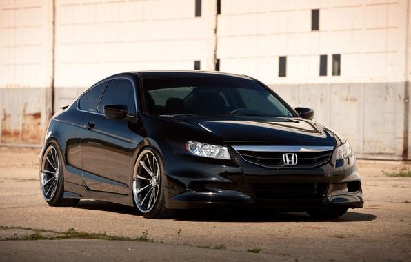 Picture black, Honda, Accord, black, Honda