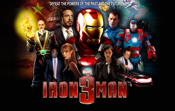 Picture fiction, comic, Tony Stark, Iron man 3, Iron Man 3