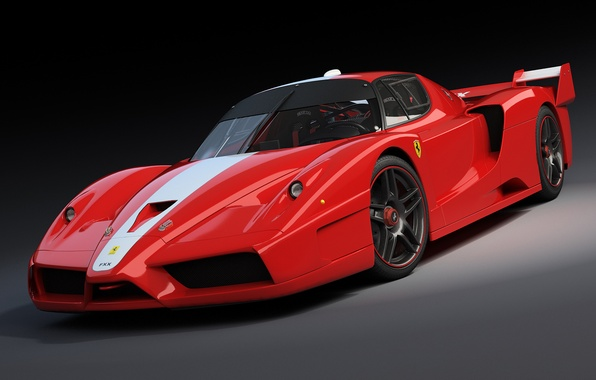 Picture Ferrari, red, red