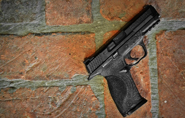 Picture gun, weapons, background, Smith & Wesson