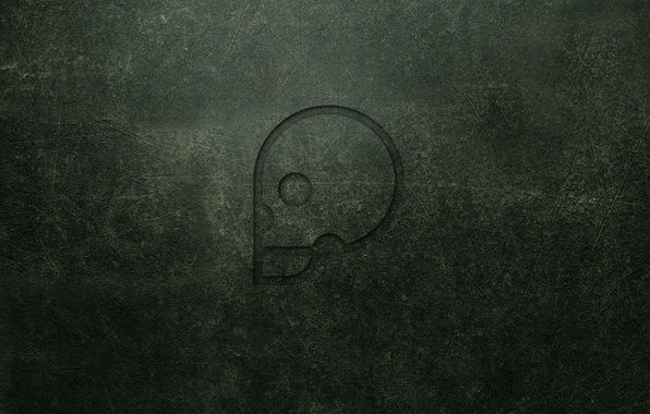 Picture wall, skull, minimalism