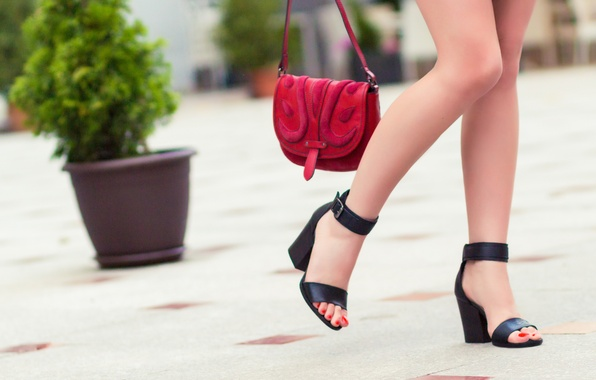 Picture red, legs, heels
