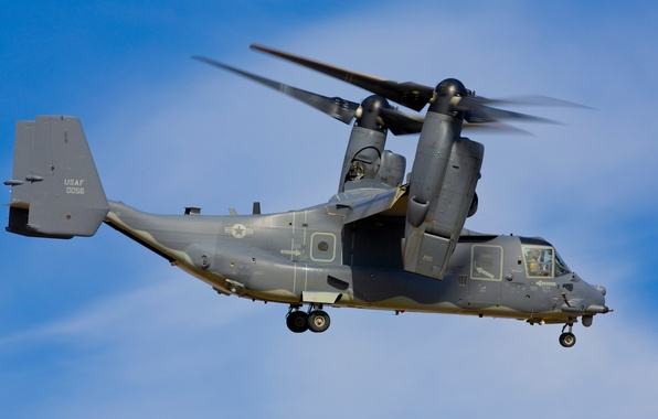 Picture weapons, army, helicopter, the plane, the tiltrotor, Osprey, Bell V-22