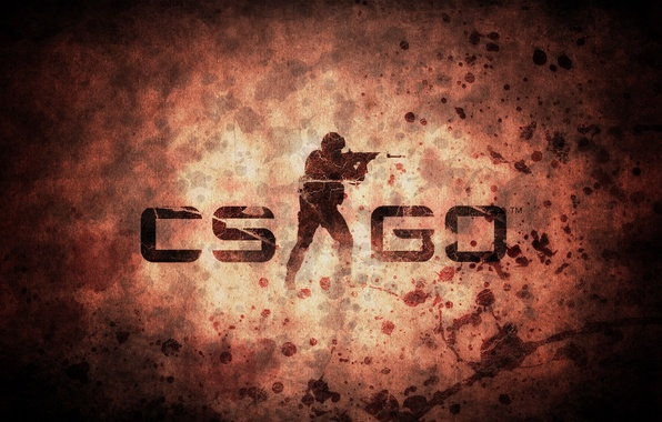 Picture letters, background, the game, characters, picture, counter strike, global offensive, cs go