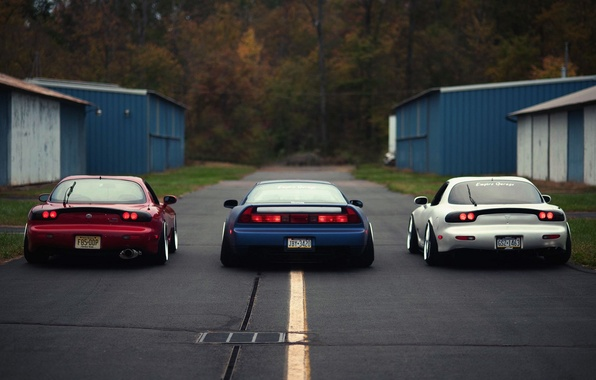 Picture Mazda, Honda, Car, Sport, NSX, Stance, RX7, Works