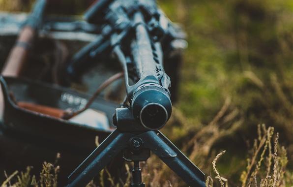 Picture war, machine gun, the second world, MG-42