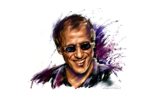 Picture smile, figure, glasses, actor, singer, Adriano Celentano, Adriano Celentano