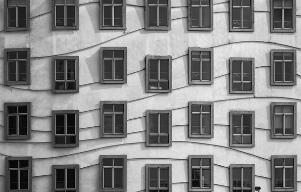 Picture house, wall, Windows, ◫ ◫ ◫ ◫ ◫ ◫ ◧ ◫