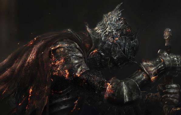 Picture Armor, Sword, Armor, Namco Bandai Games, From Software, Dark Souls 3, Dark Souls III