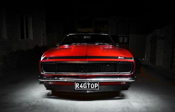 Picture Chevrolet, Camaro, Red, Chevrolet, muscle car, Camaro, Classica
