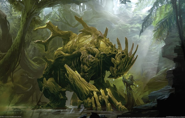 Picture Love, Trees, Monster, Guild Wars 2