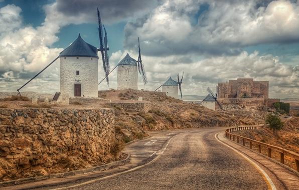 Picture Spain, Toledo, Consuegra, Castilla La Mancha