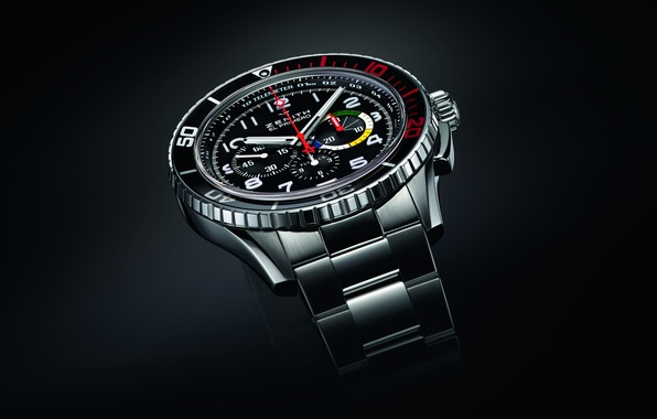 Picture red, watch, Zenith