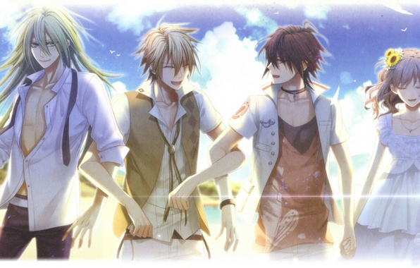 Photo Wallpaper Toma Mai Hanamura Amnesia Shin Ukyo Art Summer