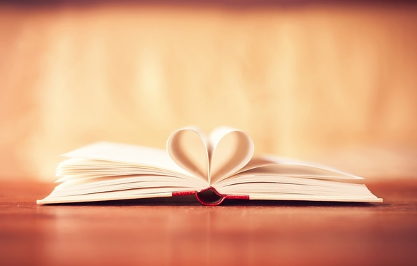 Picture background, Wallpaper, mood, heart, leaves, book, heart, owner, wallpapers, starnicy