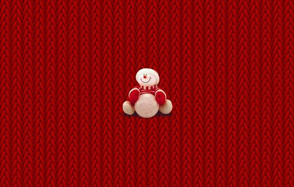 photo wallpaper winter minimalism christmas new year snowman christmas sweater - Christmas Sweater Wallpaper