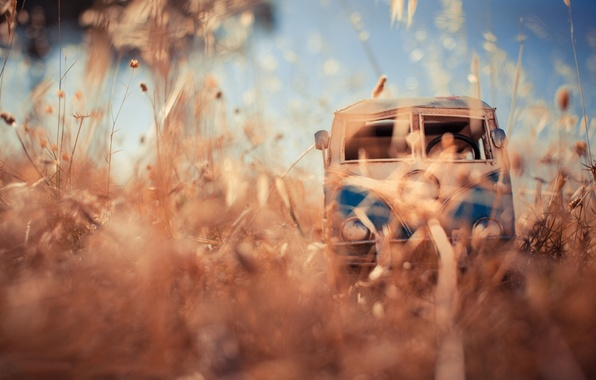 Photo wallpaper van, photo, toy, photographer, toy, field, auto, model, model, shooting, Kim Leuenberger, macro, miniature, machine, ...