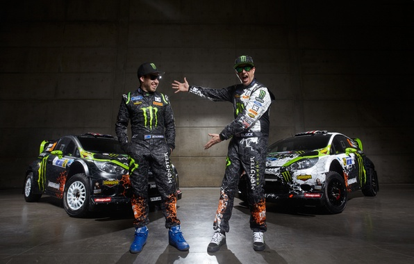 Picture ford, ken block, rally, rally, wrc, fiesta, Ken block, Chris Atkinson, kris atkinson