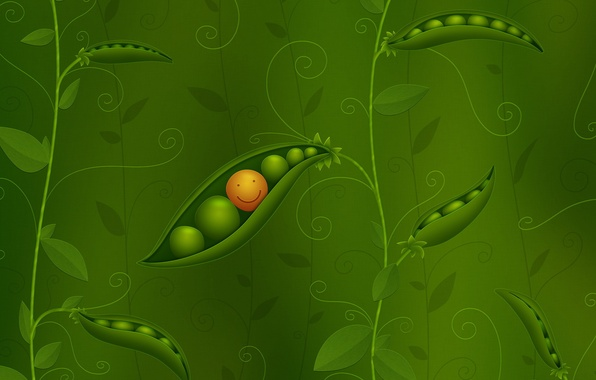 Picture style, background, figure, polka dot, smile, peas, vlad