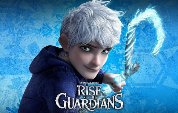 Picture ice, snow, cartoon, DreamWorks, character, Jack, Rise of the Guardians, Rise of the guardians, the …