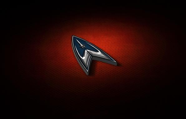 Picture cinema, red, logo, Star Trek, texture, movie, film, 50th anniversary, Travel, by gazomg on, Star …