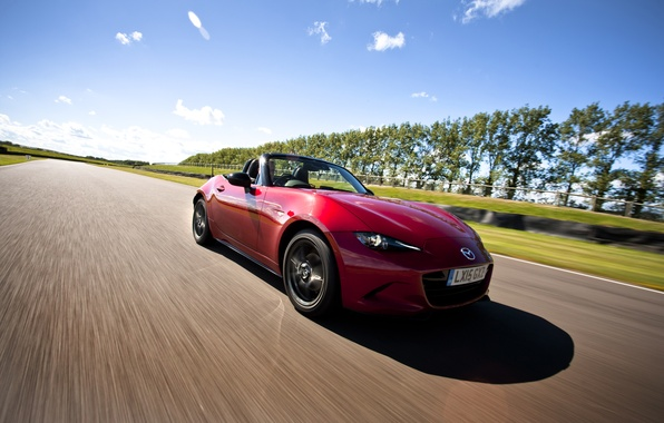 Picture Mazda, Mazda, UK-spec, MX-5, 2015