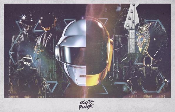 Picture Daft Punk, Thomas Bangalter, Alive, Electronic, Random Access Memories, Guy-Manuel de Homem Christo, French, RAM