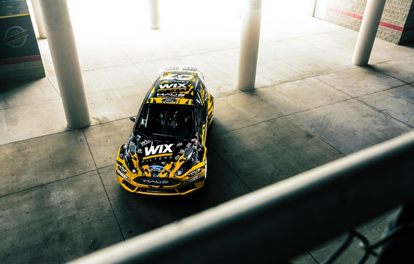 Picture Ford, Sun, Fiesta, Rallycross, 2015, Ligth