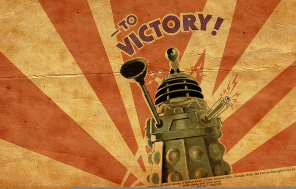 Picture machine, victory, tank, gun, doctor who, vantus, dalik
