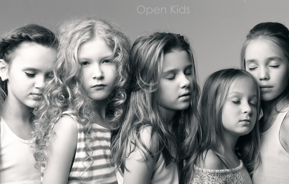 Picture children, pop, music group, Open Kids