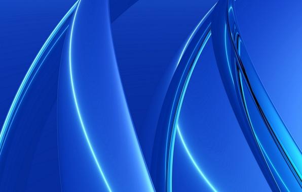 Picture light, line, blue, Wallpaper, arc, triangle, curve