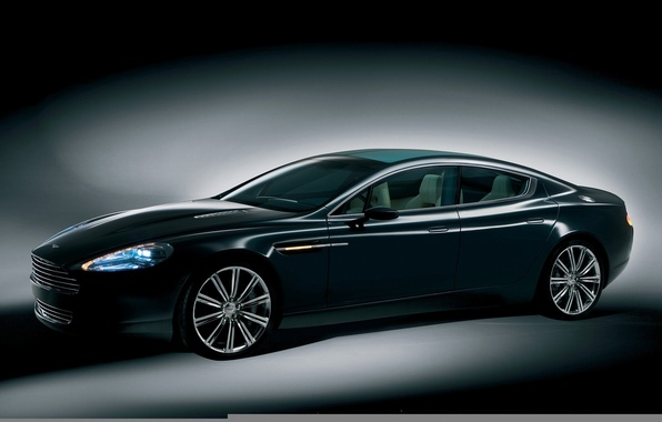 Photo wallpaper xenon, Aston Martin, Rapide