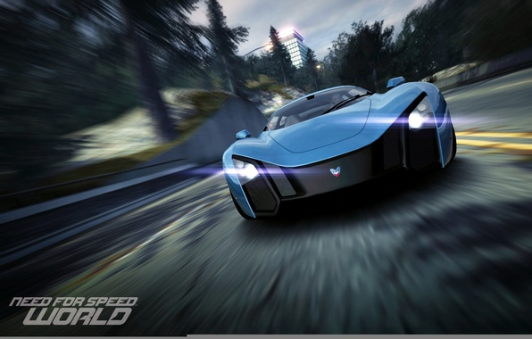 Picture speed, car, race, World, game, NFS, Need for speed, MaRussia B2