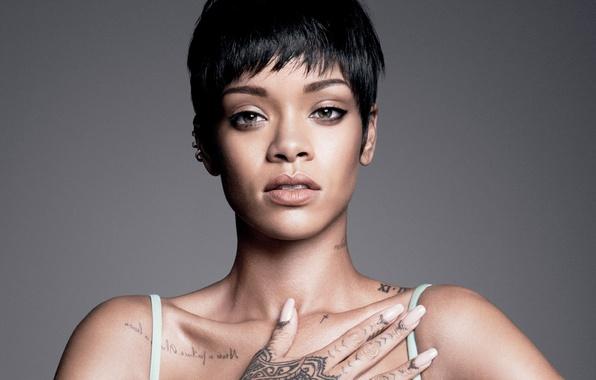 Picture tattoo, singer, Rihanna, celebrity, tattoo, Rihanna