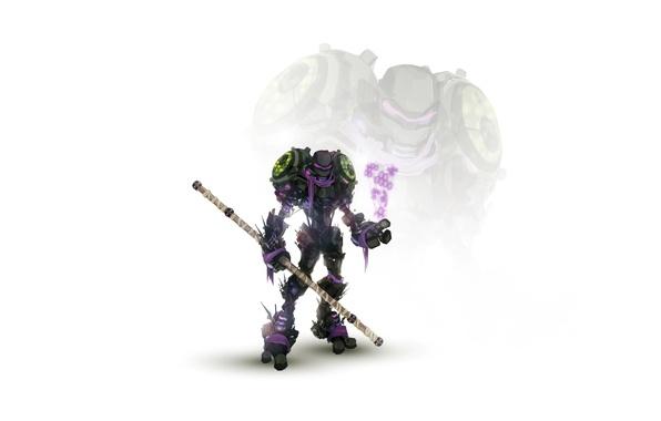 Picture robot, cyborg, mutants, teenage mutant ninja turtles, turtles, TMNT, stick, teenage mutant ninja turtles, don, …