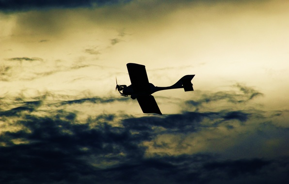 Picture the sky, color, clouds, the plane, background, Wallpaper, Photo, flight, picture