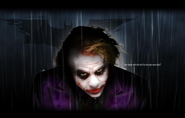 Photo wallpaper movie, Batman, the dark knight, Joker, batman