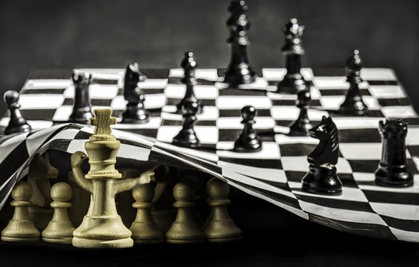 Picture the situation, chess, figure