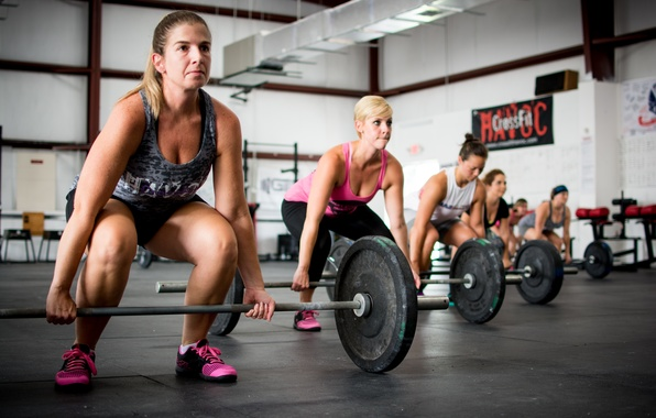 Photo wallpaper group, class, Crossfit