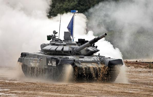 Picture Russia, Tank, T-72 B3, Tank Biathlon