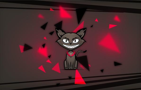 Picture cat, fragments, Photoshop, Cat, photoshop