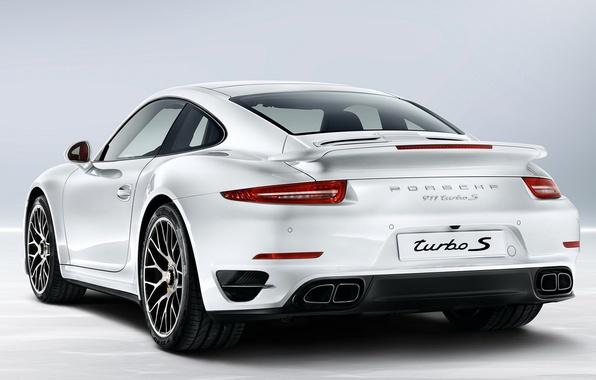 Picture white, 911, Porsche, car, Porsche, Turbo S