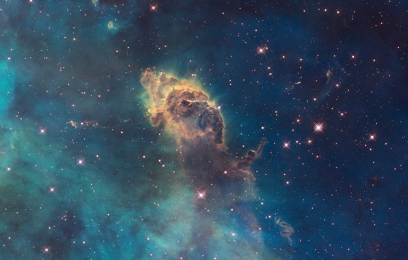 wallpaper nasa esa carina nebula hubble sm4 ero team