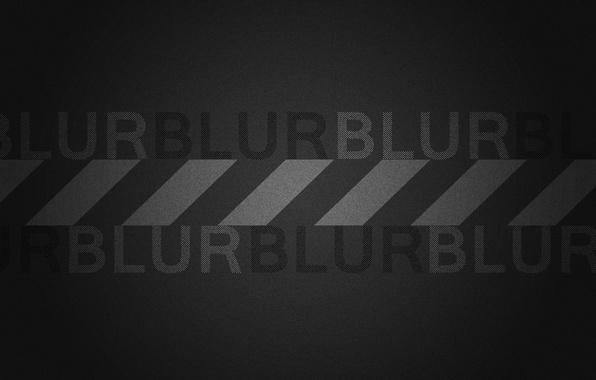 Picture design, style, letters, black, minimalism, words, Bloor, blur