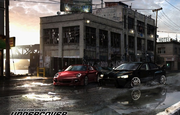 Photo wallpaper race, NFS Undercover, machine